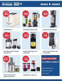 Home & Furniture deals in the Bed Bath & Beyond catalogue ( 3 days left)