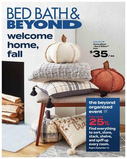 Bed Bath & Beyond deals in the Bed Bath & Beyond catalogue ( 1 day ago)