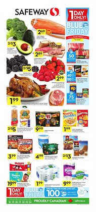 Safeway deals in the Vernon flyer