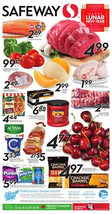 Safeway deals in the Vancouver flyer