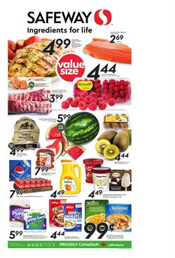 Safeway catalogue in Saskatoon ( 3 days left )