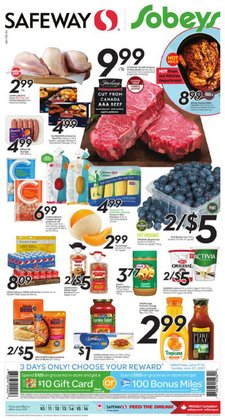 Safeway deals in the Safeway catalogue ( Expires today)