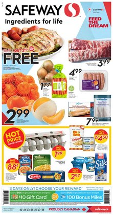 Grocery deals in the Safeway catalogue ( 3 days left)