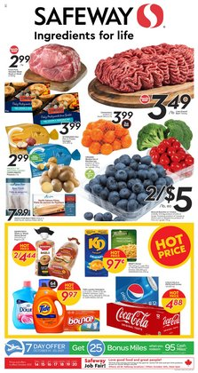 Grocery deals in the Safeway catalogue ( Expires tomorrow)