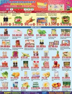 88 Supermarket deals in the 88 Supermarket catalogue ( 2 days left)