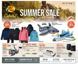 Sport deals in the Bass Pro Shop catalogue ( Expires tomorrow)