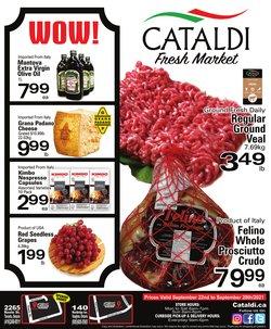 Cataldi deals in the Cataldi catalogue ( Expires tomorrow)