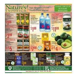 Nature's Emporium deals in the Nature's Emporium catalogue ( 9 days left)