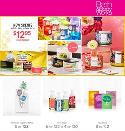 Bath & Body Works deals in the Quebec flyer