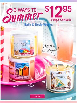 Bath & Body Works deals in the Toronto flyer