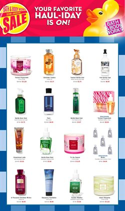 Bath & Body Works catalogue ( 25 days left )
