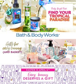 Bath & Body Works catalogue ( Expired )