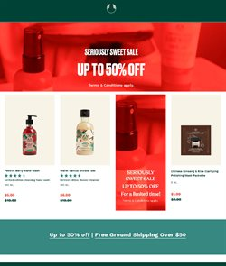 The Body Shop catalogue ( 19 days left )