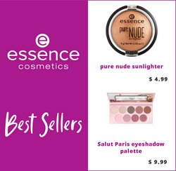 Essence Cosmetics deals in the Essence Cosmetics catalogue ( More than a month)
