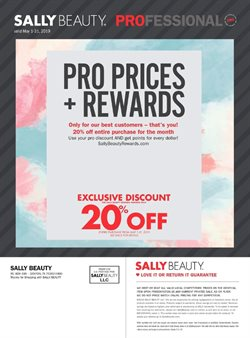Pharmacy & Beauty offers in the Sally Beauty catalogue in Prince George