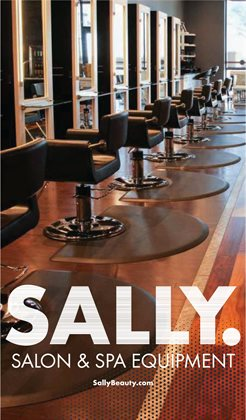 Sally Beauty catalogue ( More than a month )