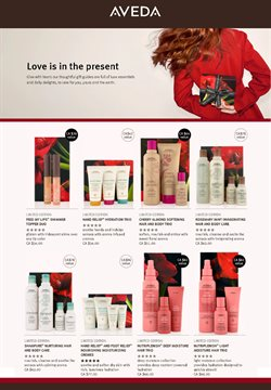 Pharmacy & Beauty offers in the Aveda catalogue in Toronto ( More than a month )