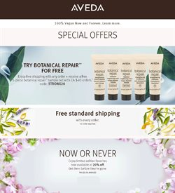 Aveda catalogue ( 27 days left )