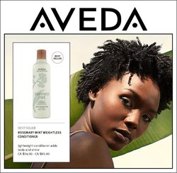 Aveda deals in the Aveda catalogue ( 29 days left)