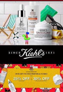 Kiehl's deals in the Kiehl's catalogue ( Expires tomorrow)