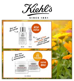 Kiehl's deals in the Kiehl's catalogue ( Expires today)