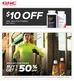 Pharmacy & Beauty offers in the GNC catalogue in Montreal