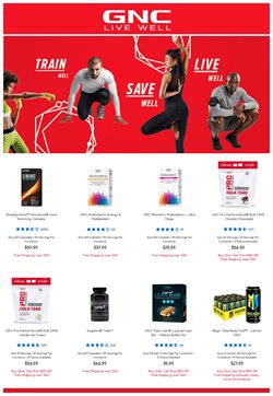 GNC catalogue ( 16 days left )