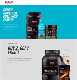 GNC catalogue ( 25 days left )