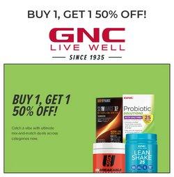 GNC deals in the GNC catalogue ( 7 days left)