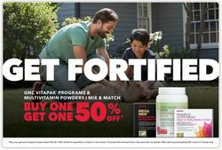 GNC deals in the Toronto flyer