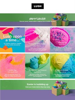 Pharmacy & Beauty offers in the LUSH catalogue ( 3 days ago )