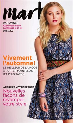 AVON deals in the Quebec flyer