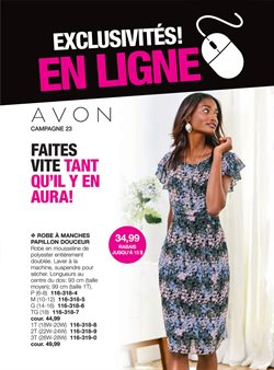 AVON deals in the Calgary flyer