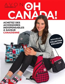 AVON deals in the Montreal flyer