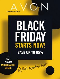 Black Friday deals in the AVON catalogue ( 1 day ago)