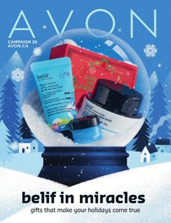 Pharmacy & Beauty offers in the AVON catalogue in Toronto ( 12 days left )