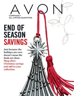 Christmas deals in the AVON catalogue ( 5 days left)