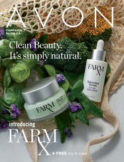 Pharmacy & Beauty offers in the AVON catalogue in Toronto ( 3 days left )