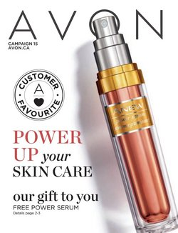 Pharmacy & Beauty deals in the AVON catalogue ( 6 days left)