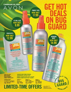 Pharmacy & Beauty deals in the AVON catalogue ( 5 days left)