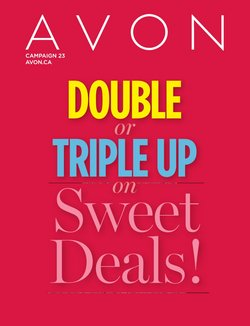 Pharmacy & Beauty deals in the AVON catalogue ( Published today)