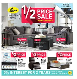 Leon's deals in the Toronto flyer