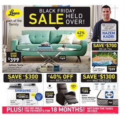 Leon's deals in the Abbotsford flyer
