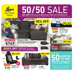 Leon's deals in the Vancouver flyer