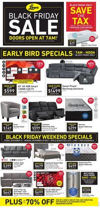 Home & Furniture offers in the Leon's catalogue in Victoria BC ( Expires today )