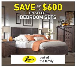 Leon's deals in the Toronto flyer