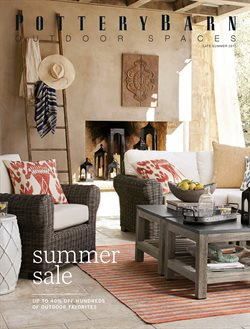Pottery Barn deals in the Calgary flyer