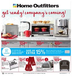 Home Outfitters deals in the Ottawa flyer