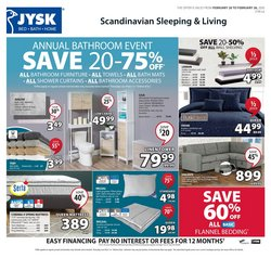 Home & Furniture offers in the JYSK catalogue in Vancouver ( 2 days left )