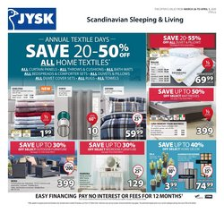 JYSK catalogue in Vancouver ( Expires tomorrow )